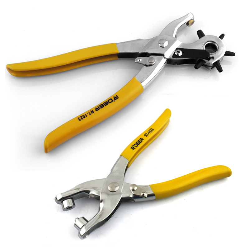 Flying deer button pliers belt punch pliers belt punch pliers belt punch the hole puncher corns