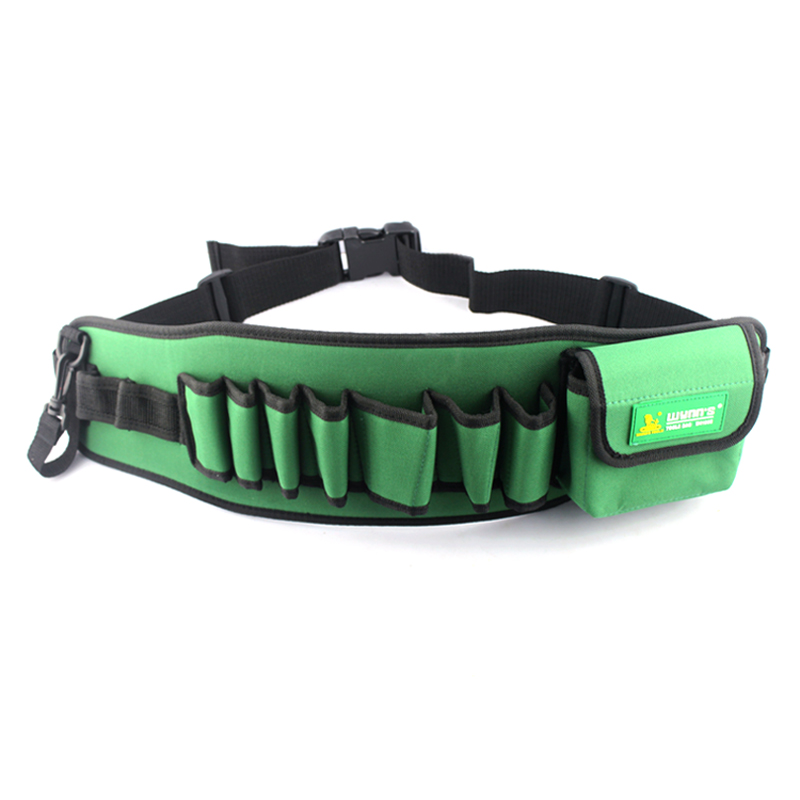 Power of the lion tool multi pocket water maintenance tool waist belt pockets thick canvas tool bag