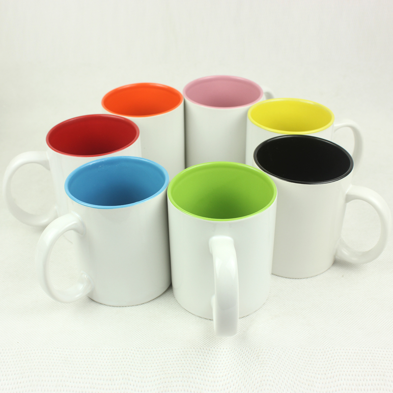 Within the color cup diy custom photo photo logo custom ceramic mug creative birthday gift watercups