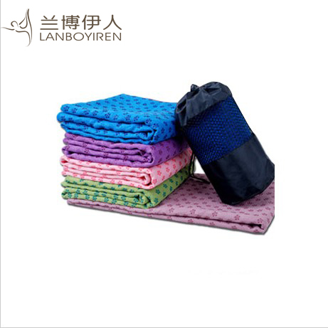 Rambo tasteless antibacterial plus widening slip yoga mat yoga mat yoga shop towels thick blanket fitness sports absorbent