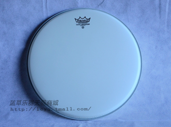 Us production remo ba-0114-0014 14 inch 14-inch snare drum skin 14 spray of white against the skin surface