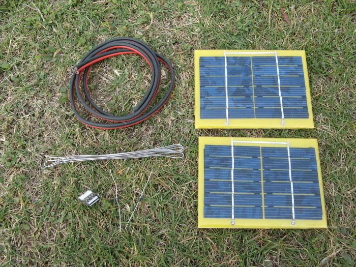 Solar panels, battery charger, mobile power, mobile phone charger 2 w 6 v usb interface diy Experiment