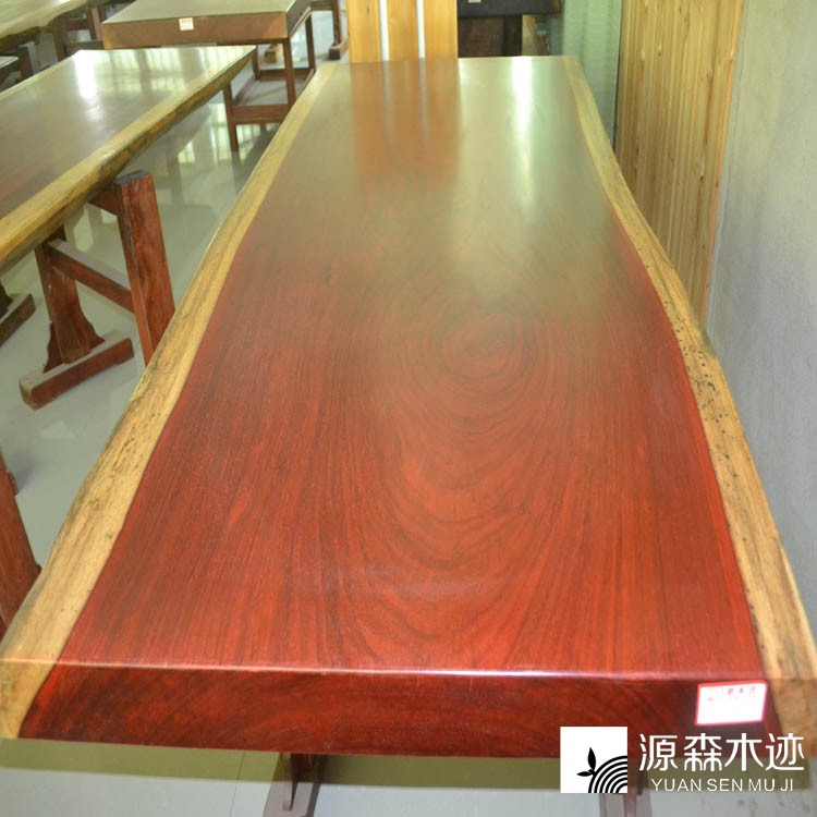 [Source sen wooden track] saffron pears large plate tea table/special mahogany furniture/wood fashion boss desk desk desk 203 * 80