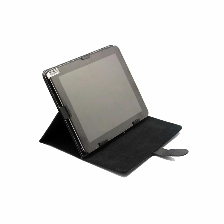 7 inch 8 inch 9.7 inch 10.1 inch tablet pc holster leather protective sleeve movable metal buckle leather card holder