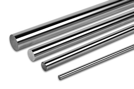 45 # steel shaft axis linear guide rod chrome plated piston rod axis high precision and high finish specifications