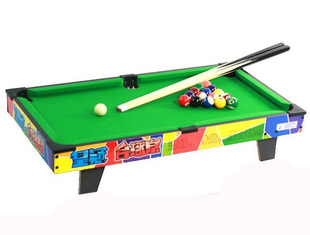 Counter genuine authentic children's wooden billiard table billiard table billiard table 80662