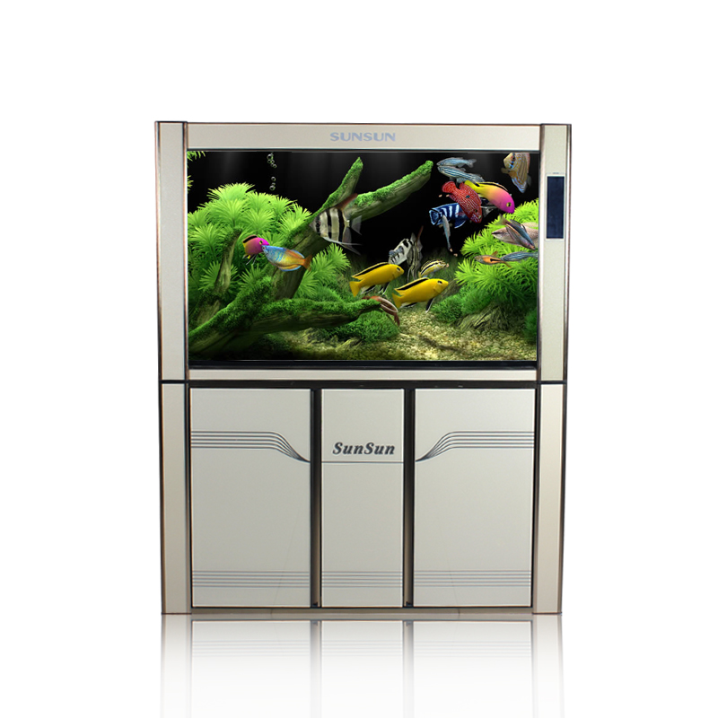 2014 dense bottom filter tank 3rd 4 generations generation upgrade section pre-2015 HLGX-1200F ecological aquarium fish tank