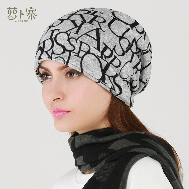 32bf3231e0b Get Quotations · 2015 new autumn and winter warm hat cap piles of baotou  hat fashion cap hedging round