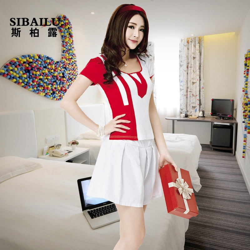2015 new sexy stewardess uniforms suit bathing suits sauna suits technician miss ktv night work clothing