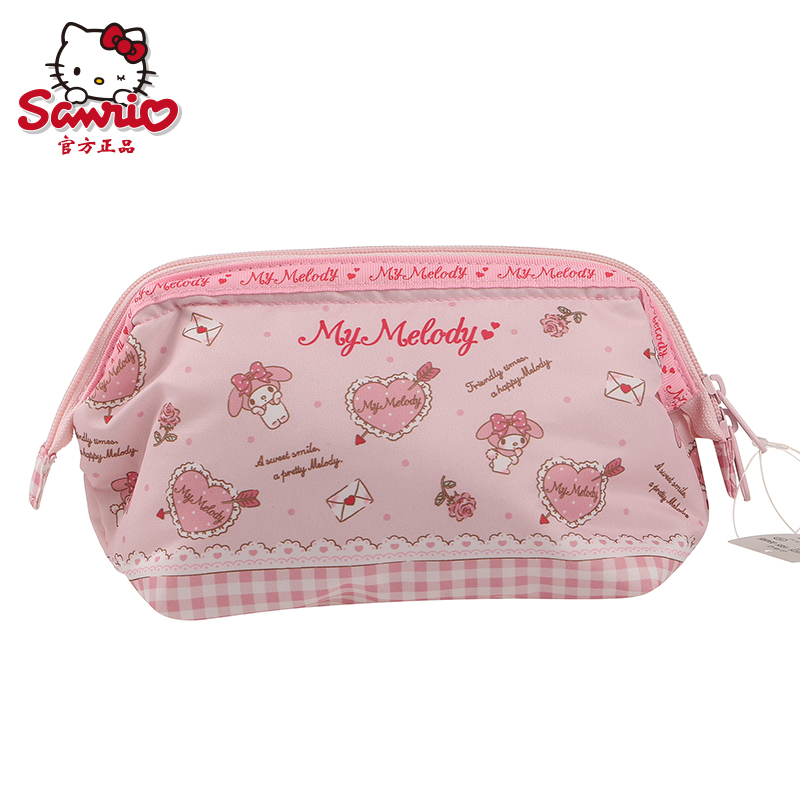 2016 brand new sanrio my melody cartoon girls small bag storage bag