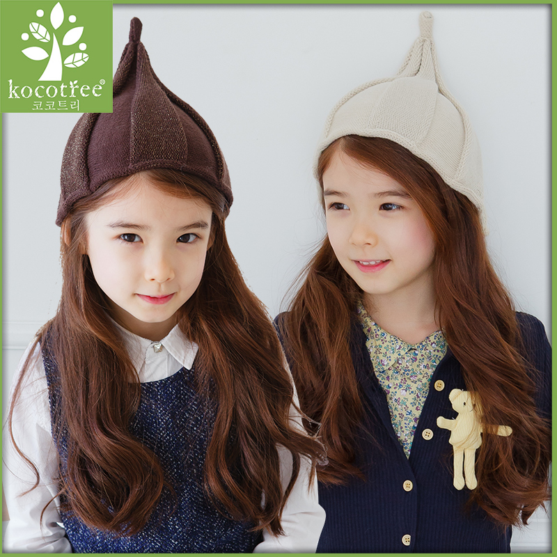 2016 korean version of the new girls hat hat hat autumn and winter hat female autumn and winter influx of cute kids fashion