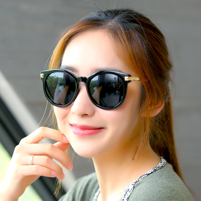 2016 korean version of the new retro sunglasses female influx of people myopia glasses sunglasses star models female models sunglasses polarized driving mirror