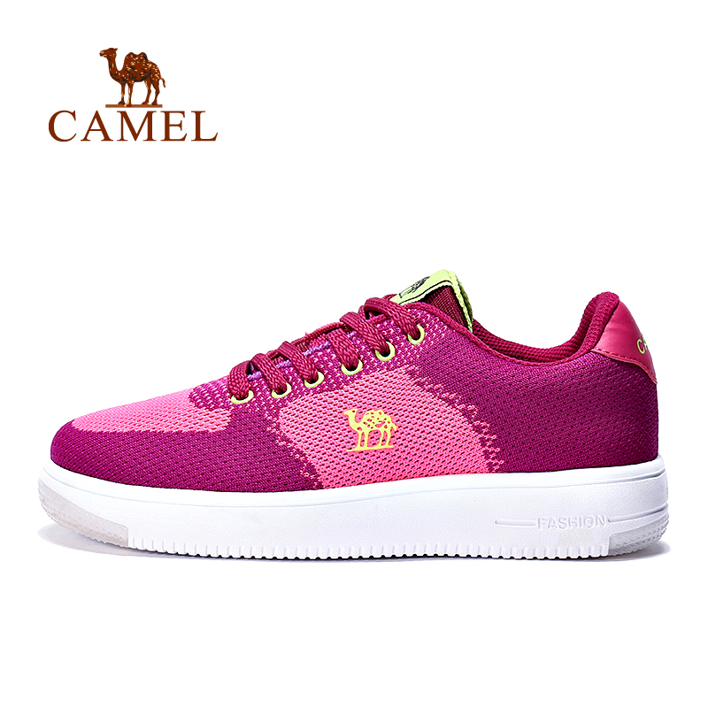 [2016 new] camel camel outdoor female models lightweight and comfortable running shoes female sports shoes running shoes everyday