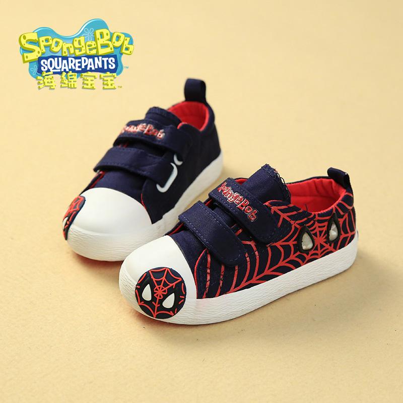 spiderman shoes korean fashion tide
