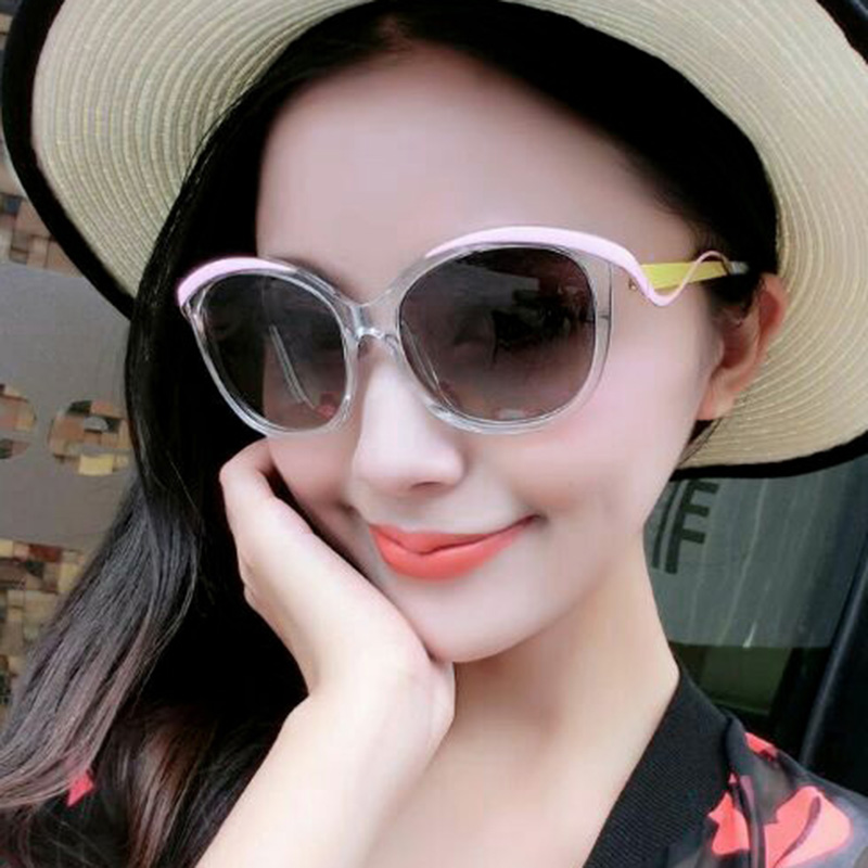 2016 new european and american fashion sunglasses european and american retro sunglasses large frame sunglasses polarized sunglasses yurt