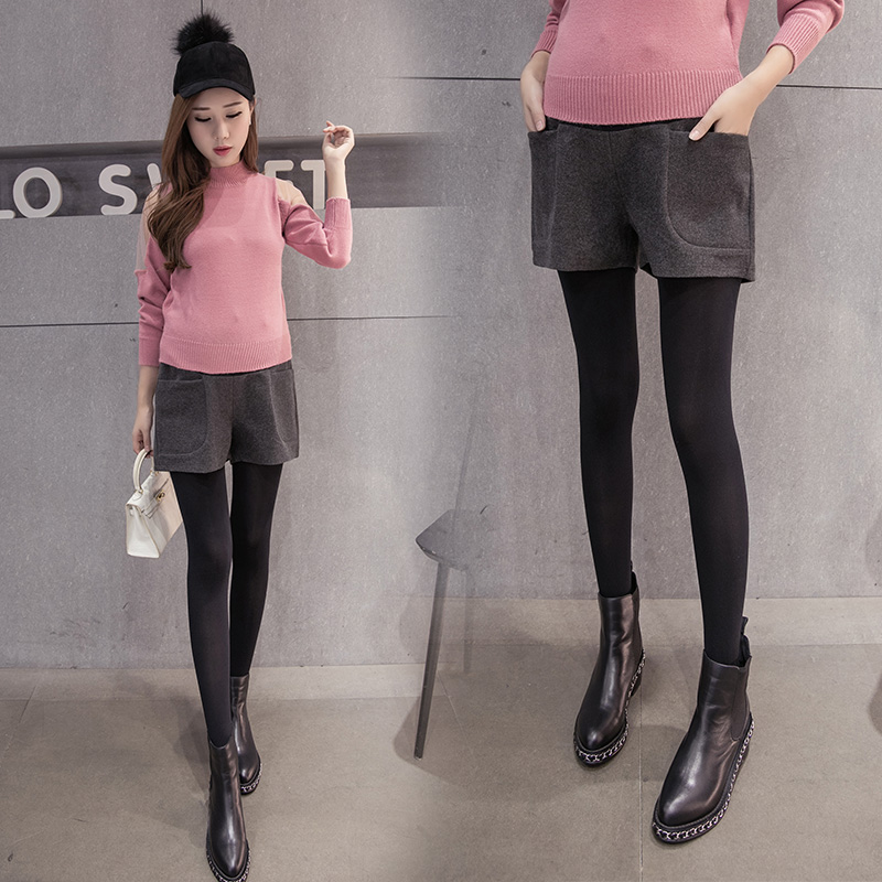 2016 new fall pregnant women leggings pants pants fall and winter tide mom maternity winter care of pregnant women belly boots pants shorts