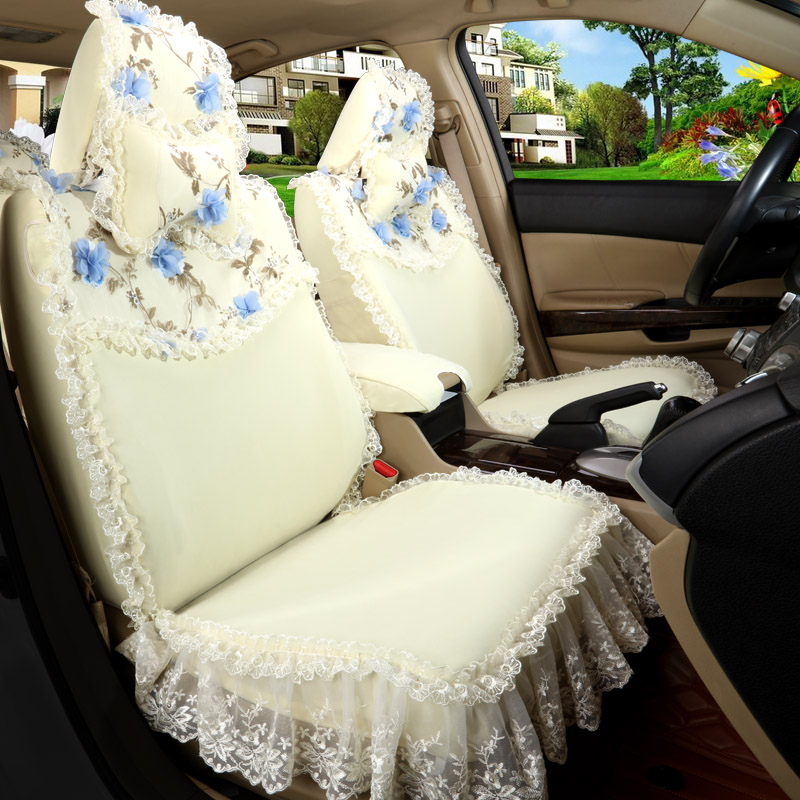 Get Quotations 2016 New Women Ms Lace Cushion Covers The Whole Surrounded By Custom Car Seat