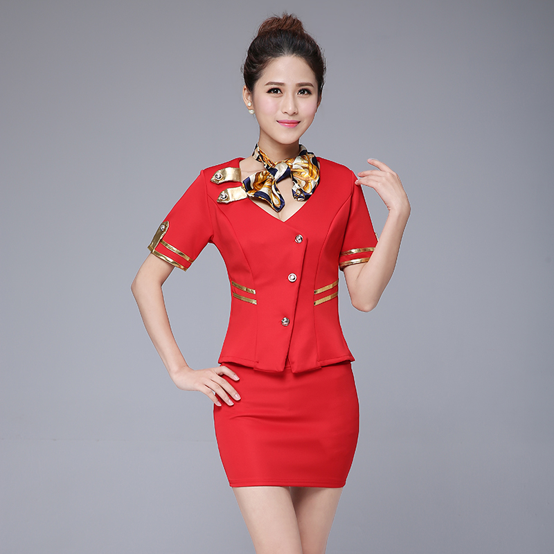 2016 spring and summer new nightclub stewardess uniforms field female nightclub princess dress sauna technician uniforms miss