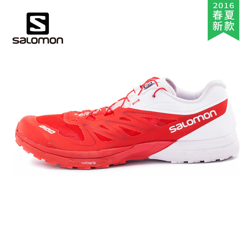 [2016] spring and summer salomon/salomon cross country running shoes neutral section 379456