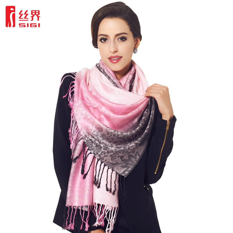 2016 spring and summer silk sector south korea spring and autumn scarf female winter long section of thick cotton scarf shawl dual