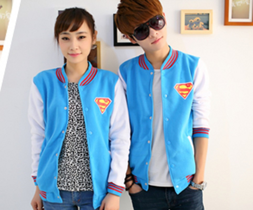 2016 spring and winter new korean version of casual printing couples suite uniforms baseball uniform student class service uniforms