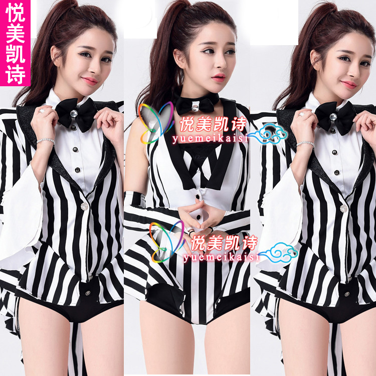 2016 summer new costume costumes bar nightclub singer dj ds costumes female siamese hit song suits
