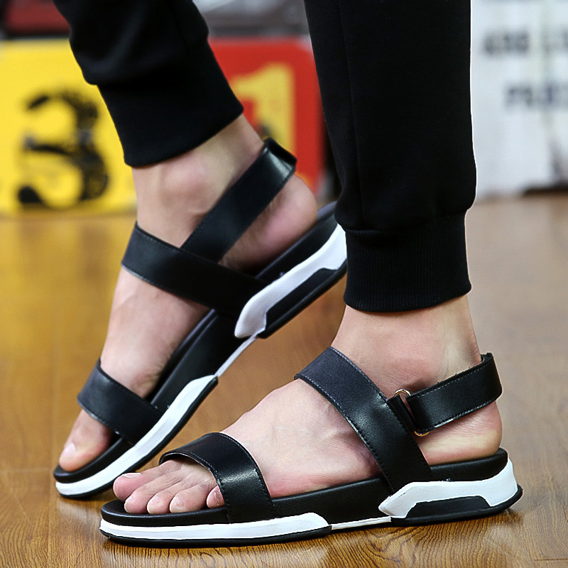 39a92b31938378 Get Quotations · 2016 summer new sandals men sandals everyday casual shoes  korean roman sandals shoes sandals open toe
