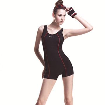 [] Mit sarbis bathing large female jumpsuit corners spa swimsuit with swimming cap