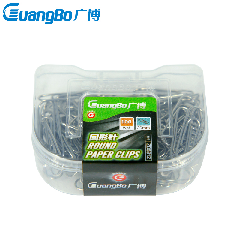 29mm extensive paperclip metal paperclip paperclip paperclip pin 100 wholesale office storage