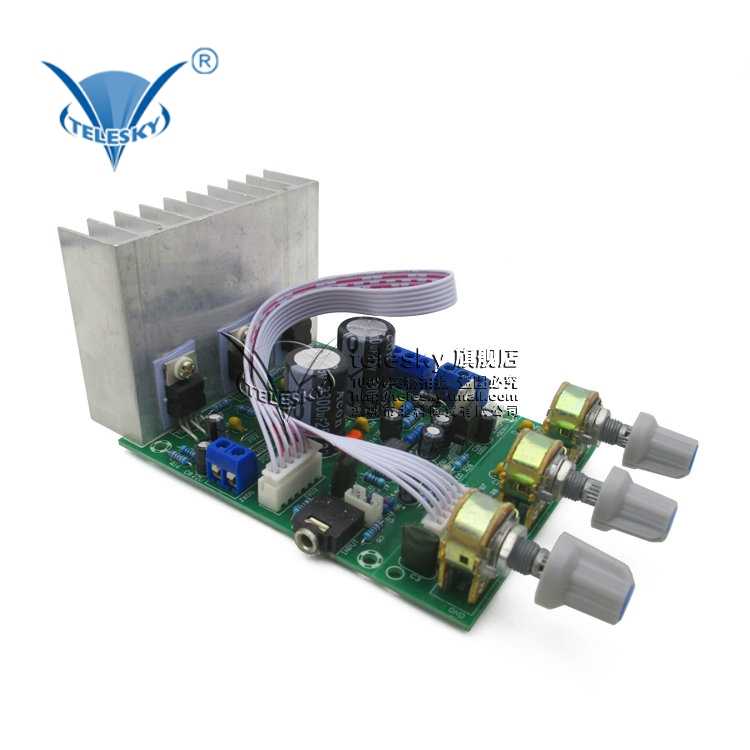 3 channel subwoofer tda2030a 2.1 subwoofer amplifier board finished compatible lm1875