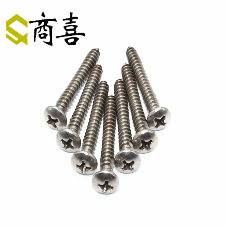 304 stainless steel gb845 pan head self tapping screws. bolts 13.19.25.38.45.55.6 st3.9 * 9.5