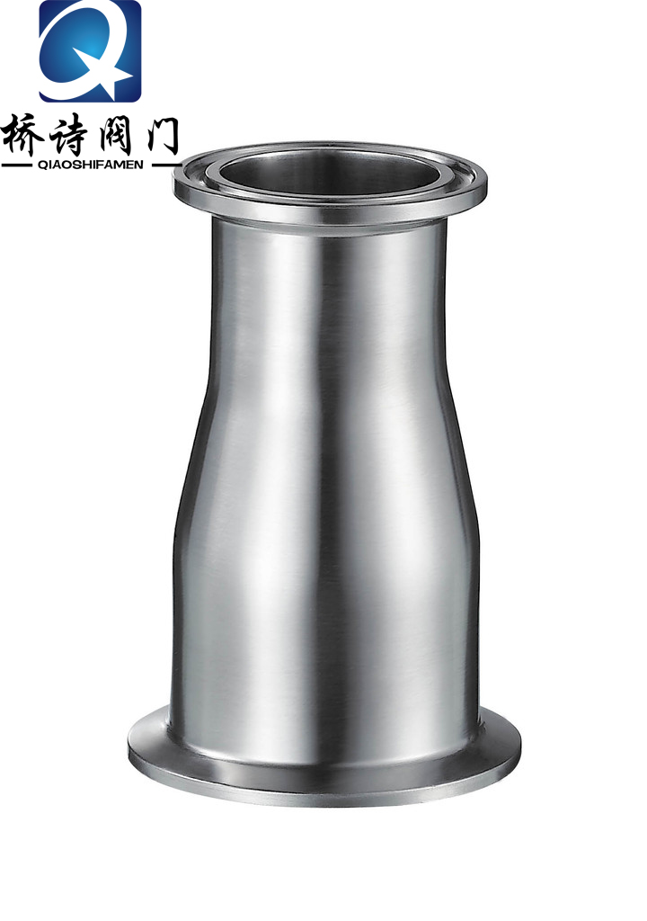 304 stainless steel sanitary vacuum kf quick head size/flange/adjustable quick loading large Head/adapter