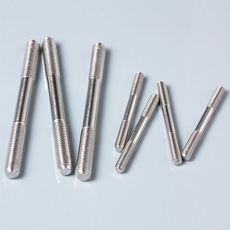 304 stainless steel stud stud screw screw \ \ \ \ \ teeth rods m6 screw bolts series connection Screw