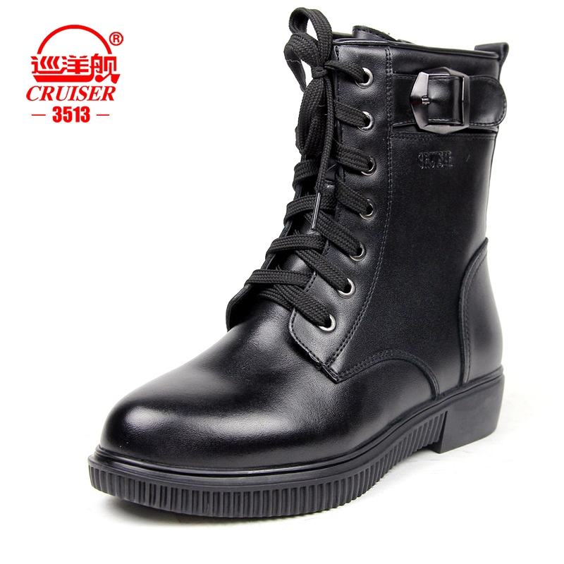 3513 cruiser boots warm winter boots wool boots cotton boots commando army boots free shipping