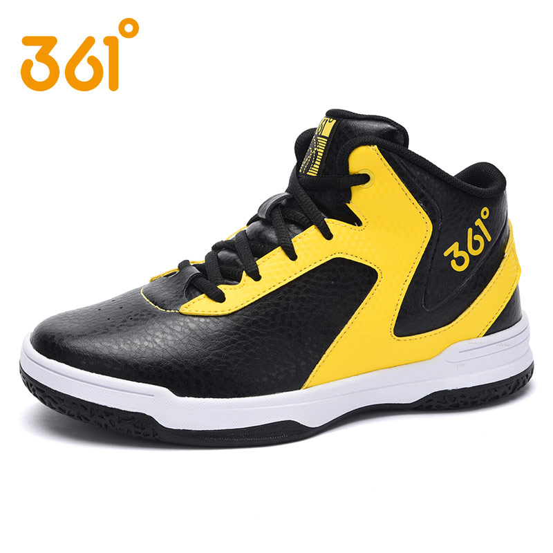 [361 degrees shoes student basketball shoes 2016 new winter sports shoes children boys basketball shoes men's shoes