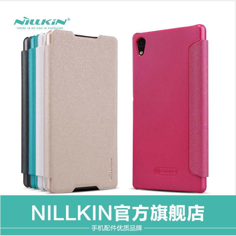 Nillkin nile gold macwilliams macwilliams cell phone holster protective shell sony z3 z3 + protective sleeve + phone shell
