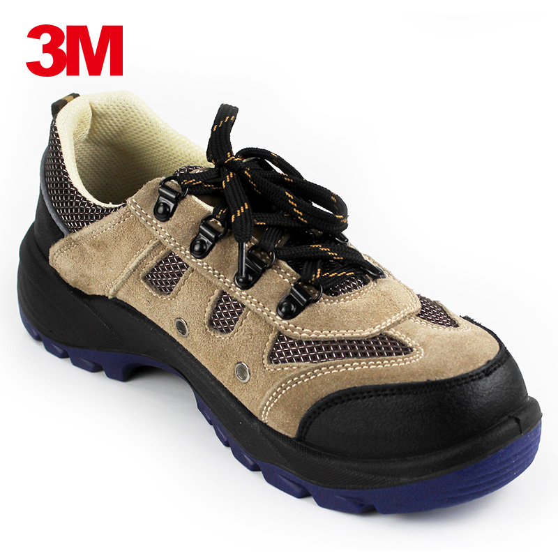 3M4022 smashing anti puncture site safety shoes baotou steel safety shoes men breathable summer antistatic safety shoes