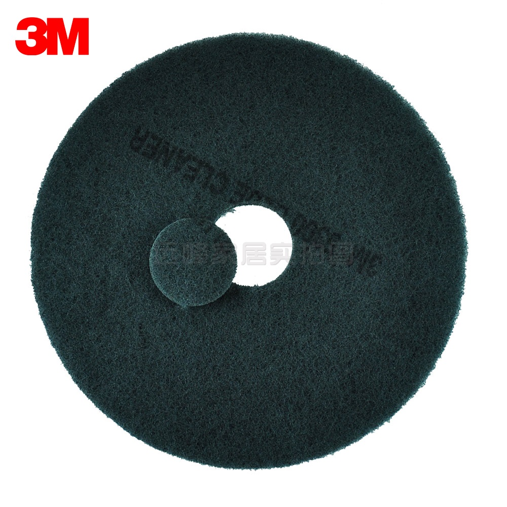 3M5300 blue piece of scouring pad brush marks in addition to wax pad mat cleaning pad polishing pad 17 inch