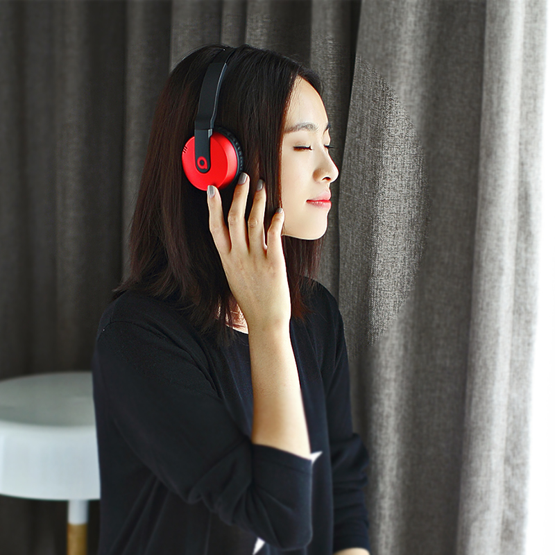 4.1 music headphones bass headset bluetooth headset wireless headset dual ai the headset amplifier b18
