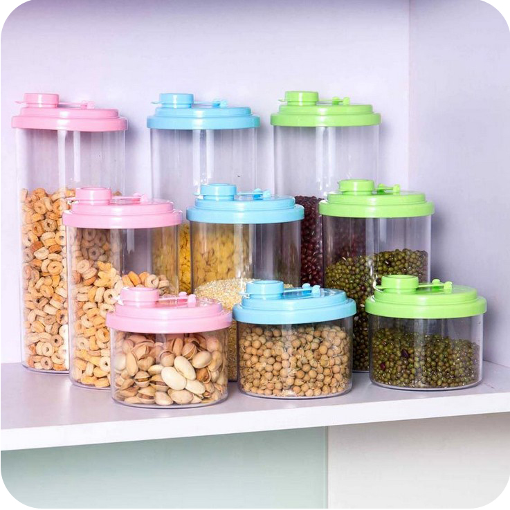 426 whole grains kitchen canister storage box covered plastic storage tank fresh food storage box plastic food boxes
