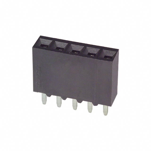 5-534237-3 [connector receptacle 5 position 0.100