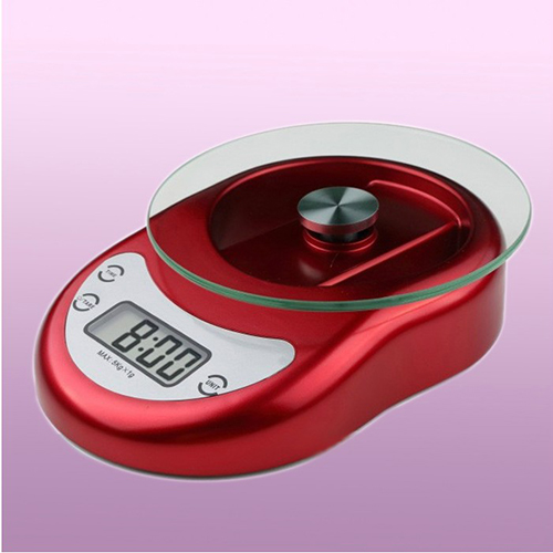 5 KG/kg with clock function electronic kitchen scale baking scale gram scales electronic scales kitchen scale baking say