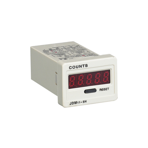 5 lcd digital display electronic counter cumulative counter jdm11-5h with power and memory 220v24v12v