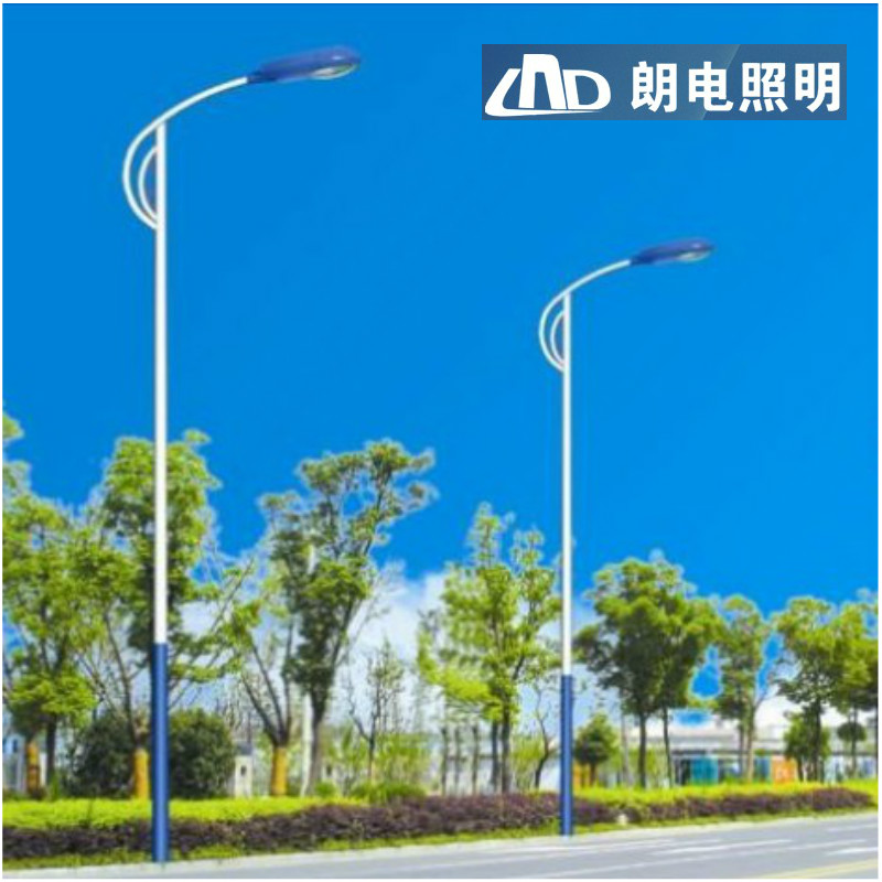5 m 6 m 7 m 8 m lampposts road lights outdoor lights led street lamp head high pole lamp full Set of new rural waterproof