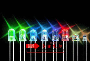 5 MM mm led bright red red red red red light emitting diodes f5 red red short legs 1000/bag
