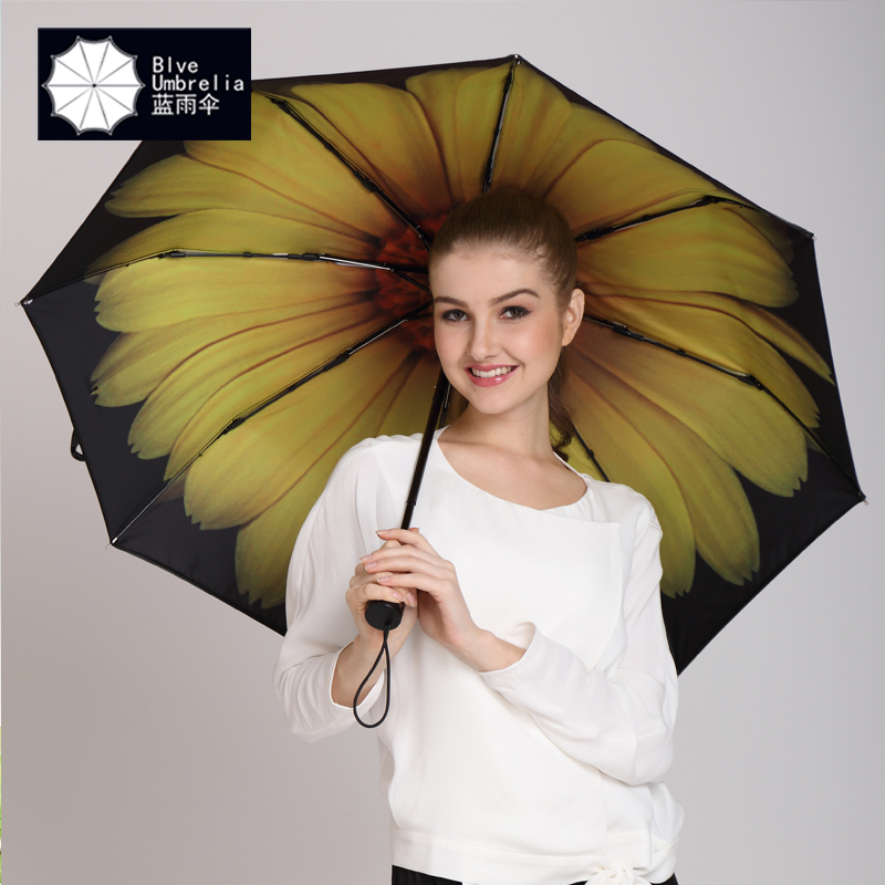50 black umbrella creative personality umbrella umbrellas super sunscreen vinyl umbrellas uv ultralight folding umbrella woman