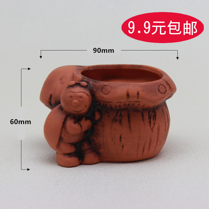 502 orange succulents ceramic pots plastic pots large potted plants flower garden flower creative arts and free postage