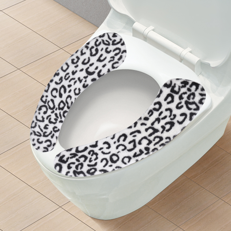 519 seamless paste toilet mat toilet seat toilet seat can be repeatedly washed thick plush models