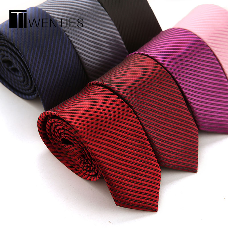 5cm small influx of casual wedding dress and groom tie male korean narrow version of korean business career student dark blue fine red