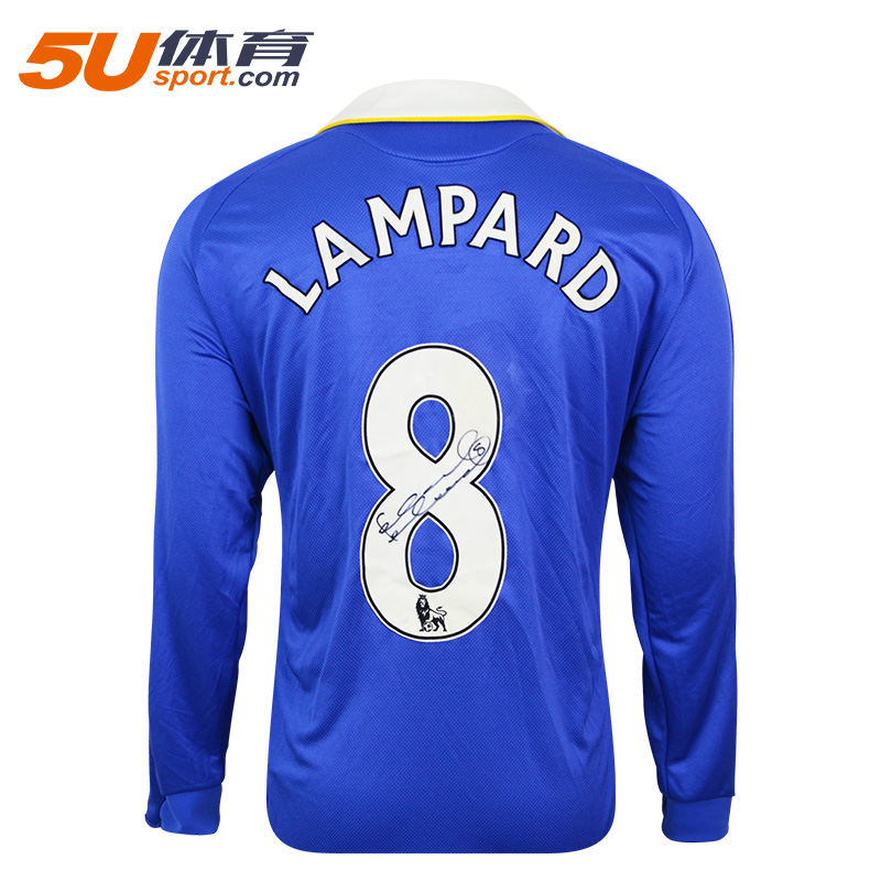 5u sports icons in the greater china region acting autographed lampard chelsea home jersey